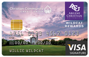 Wildcat Visa Signature Rewards